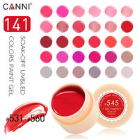 #50618 CANNI UV Gel Paint 141 colors 5ml Nails Gel UV Colors