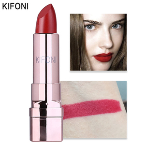 Image 2 - New Arrival KIFONI brand makeup beauty matte lipstick long lasting tint lips cosmetics lip stick maquiagem make up red batom
