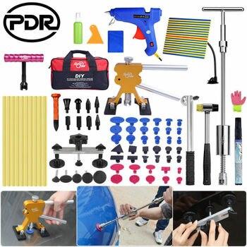 PDR Tools Dent Repair Tool Dent Shield Slide Hammer Glue Gun Dents Remove Set
