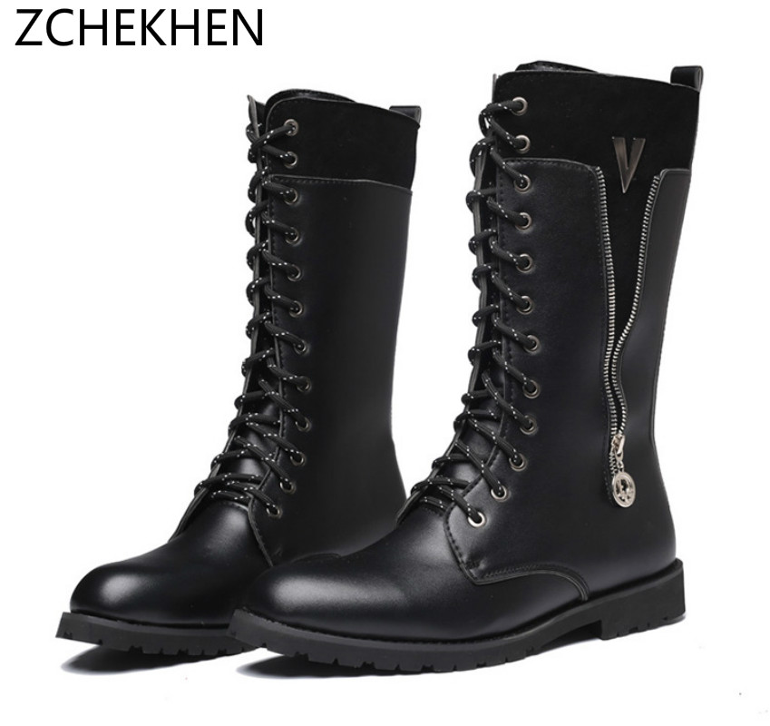 Fashion Army Soft leather Boots Men Military Boots Tactical Combat Boots Waterproof Summer/Winter Riding Boots Size 35-46 fashion army boots men military boots tactical combat boots waterproof summer winter desert boots size 35 46 ids658
