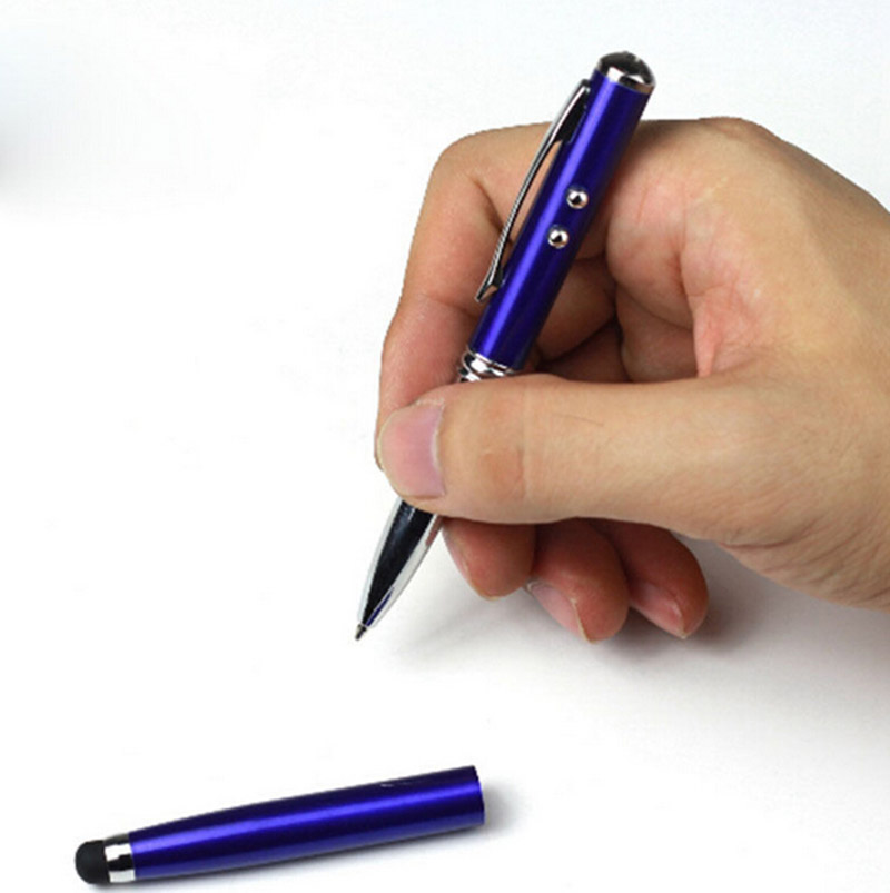 ULIFART 4 ​​IN 1 Stylus Touch Laser Pointer Ballpen Led Light - Кеңсе электроника - фото 4
