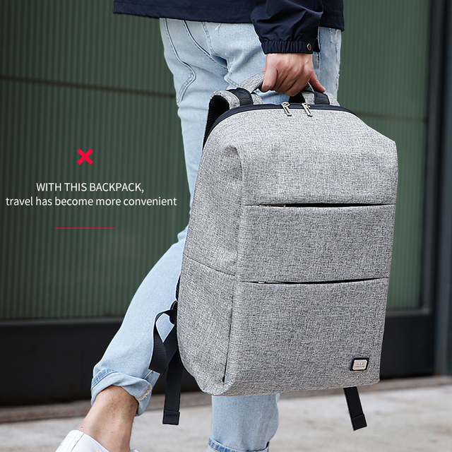 Mark Ryden New Men Backpack For 15.6 inches Laptop Backpack Large Capacity Stundet Backpack Casual Style Bag Water Repellent 5