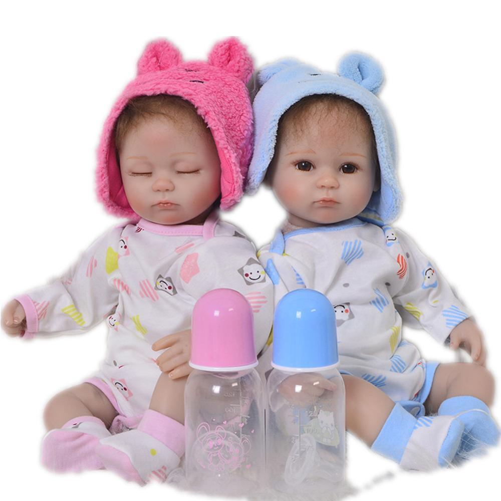Silicone reborn bébé poupées 16