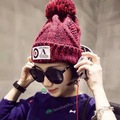 New autumn and Winter Cap Women Warm Woolen Knitted Fashion Hats For women Beanies Cap Woman Fur Cap bone Fast shipping