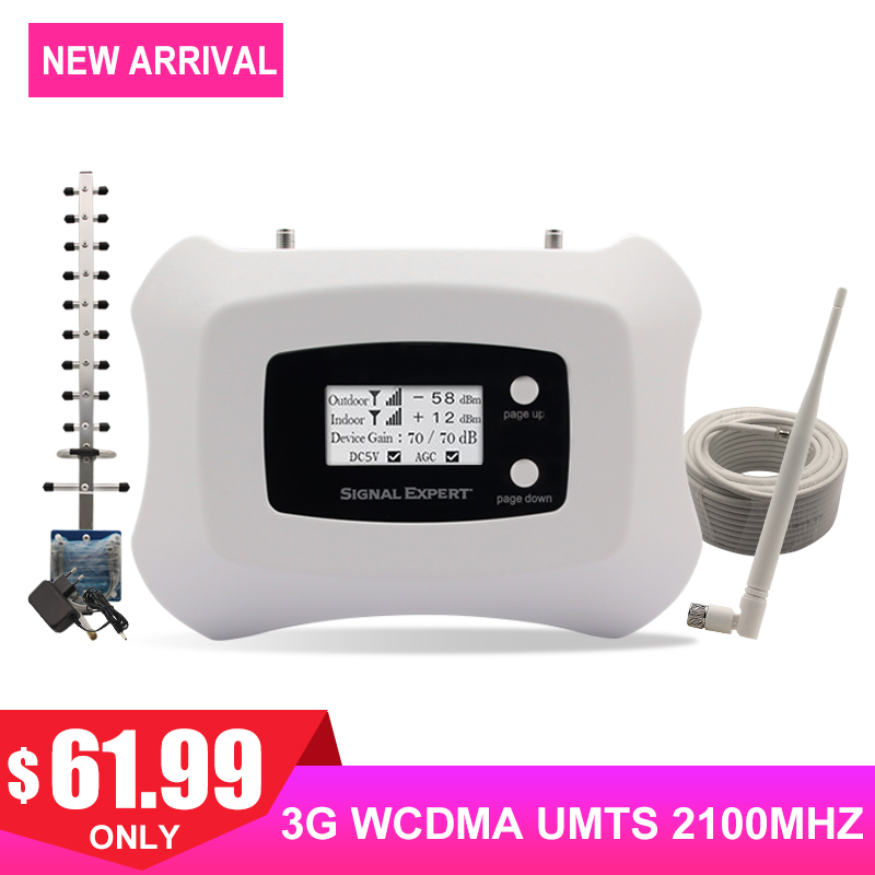 3G WCDMA UMTS 2100MHZ Telephone Signal Repeater Internet Communication Cell Signal Gain 70dB Band 1 Network Amplifier Antenna .3G WCDMA UMTS 2100MHZ Telephone Signal Repeater Internet Communication Cell Signal Gain 70dB Band 1 Network Amplifier Antenna .
