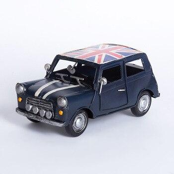 Creativo Retrò In Metallo Modello di Auto Ornamenti In Ferro Auto Depoca Figurine Crafta Complementi Arredo Casa Bar Puntelli di Visualizzazione best Regali di raccolta
