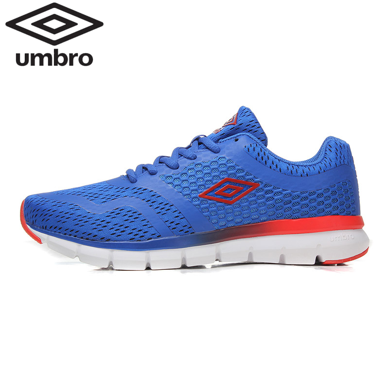 Umbro Men Running Shoes Mesh Breathable Light Weight Cushioning Jogging Running Shoes Sneakers Sport Shoes Ucb90711 mulinsen men breathable running shoes summer 2017 shoes men mesh walking shoes sport jogging brand sneakers for men zapatos