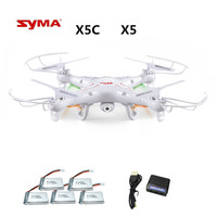 Syma X5C X5C 1 ( Drone With 2.0MP Camera ) RC Drone Quadcopter or Syma x5 x5 1 (No Camera) 2.4G 4CH Dron RC Quadcopter toy