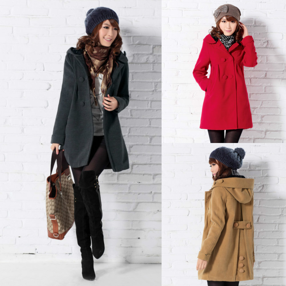 Free Shipping Women's Winter Cashmere Coats, Cape Coat For Women ...