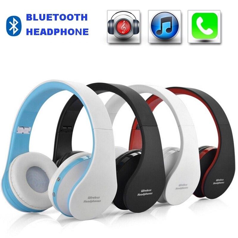 Fones de ouvido estéreo sem fio bluetooth 4.1 fone de ouvido sobre a orelha para iphone android fone ouvido