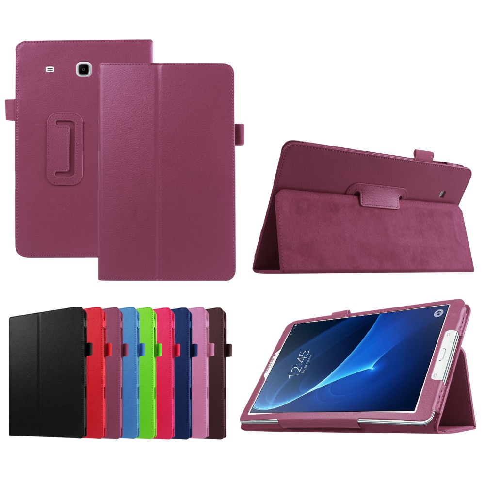 HOT wholesale Case For Samsung Galaxy Tab A 7.0 T280 T285 Tablet Folio Slim PU Leather Stand Litchi Cover 7.0 Inch+film+Stylus 2017 hot business luxury slim case for samsung galaxy tab 3 lite t110 t111 7 inch tablet folio tablet pu leather cover stylus