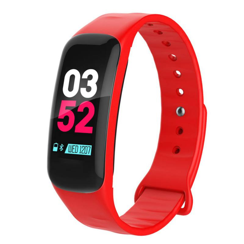F602 Smart Wristband Heart Rate Blood Pressure Fitness Bracelet For  IOS Android A1 Smart Watch