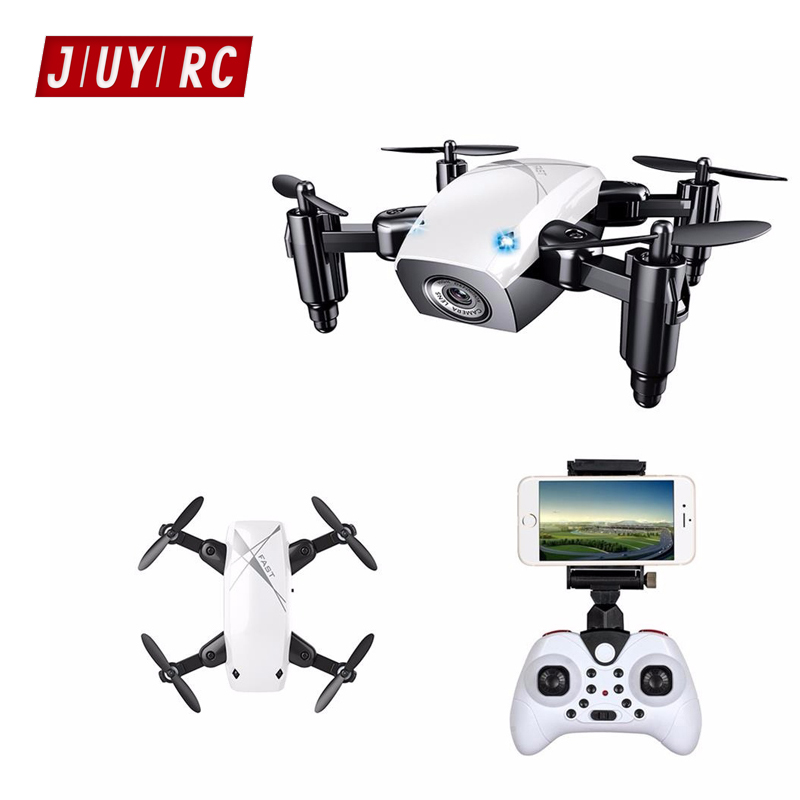 JIUYI RC Drone S9 Mini Pocket Drone Headless Mode & Altitude Hold with WIFI Camera 2.4Gh ...