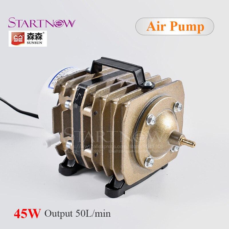 220V Electrical Magnetic Air Compressor 45W 50L/Min ACO 003 SUNSUN Air Pump For Home Aquarium Aerator Aquaculture Fish Farming