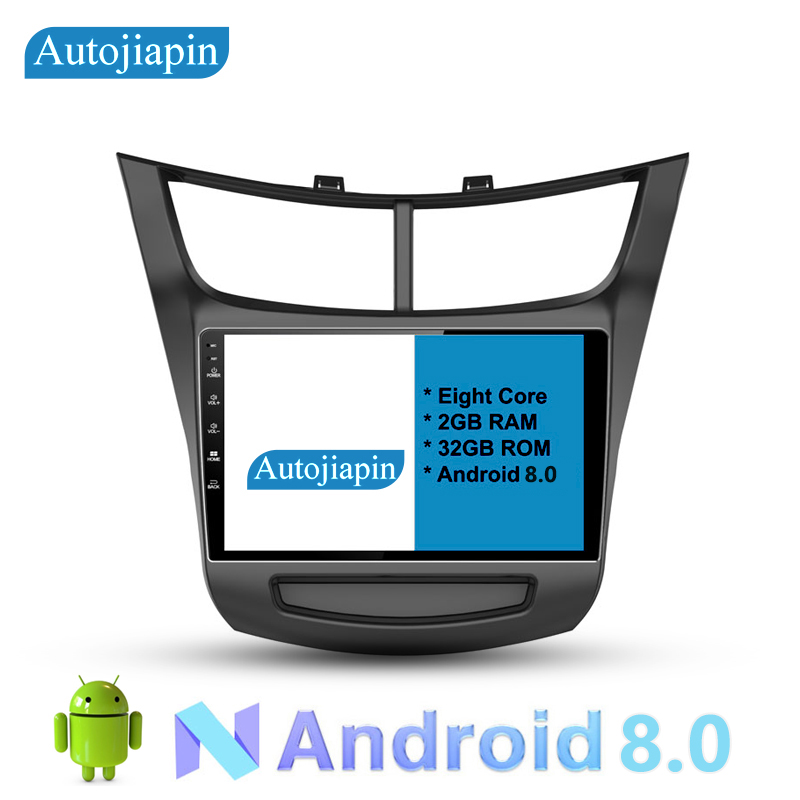 AUTOJIAPIN For Chevrolet Sail 2015 9 Eight Core Android 8.0 2G RAM 1024*600 Car GPS navigation With Multi Touch Screen WIFI/4G