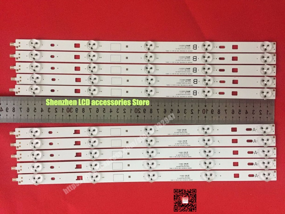 "10PCS/lot  For Sony  TV  LED 40"" KDL-40RM10B 2013SONY40A 2013SONY40B KDL-40W600B KDL-40R480B KDL-40R450B KDL-40R483B KDL-40R453B"