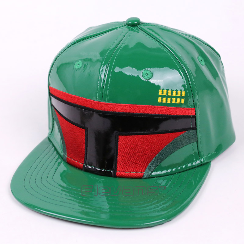 Hot Sale Star Wars Cosplay Cap Boys Mens Snapback Caps Boba Fett / Clone Troopers / R2D2 / BB-8 Fashion Baseball Hat star wars boys black