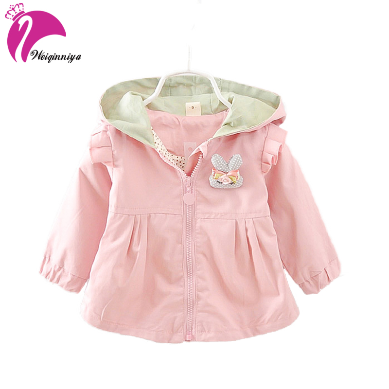 1e5730b7c Spring Autumn Fashion Baby Girls Hoodies Toddler Girls Jackets ...