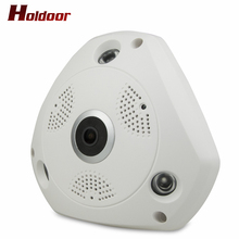 Holdoor 360 Degree 3.0MP HD Panoramic VR Camera  Wireless WIFI IP Camera Night Vision 24 hours watching Home Security CCTV Cam