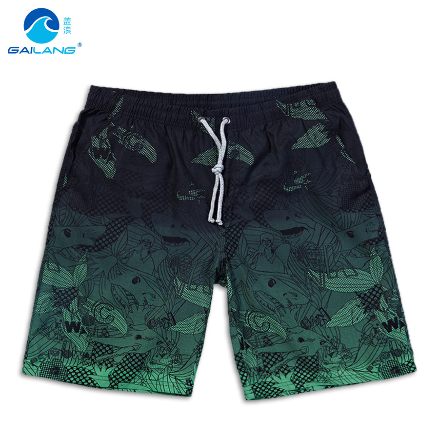 2018 New Men's   Board     Shorts   Quick Drying Beach Brand   Shorts   Surfing Bermudas Masculina De Marca Mens Boardshorts Surf