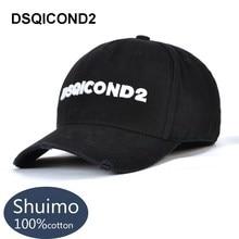 DSQICOND2 Brand Snapback Baseball Caps for Women Men New DSQ Summer Dad Hats Black Hip Hop Cap Letter ICON Bone Gorras Casquette