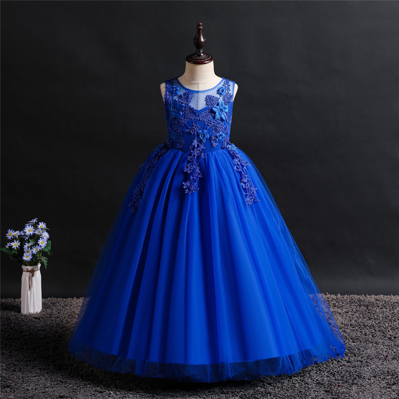 Summer clothing children's wear formal dress girl clothes birthday party princess girl clothing costume ceremony baby dresses 1