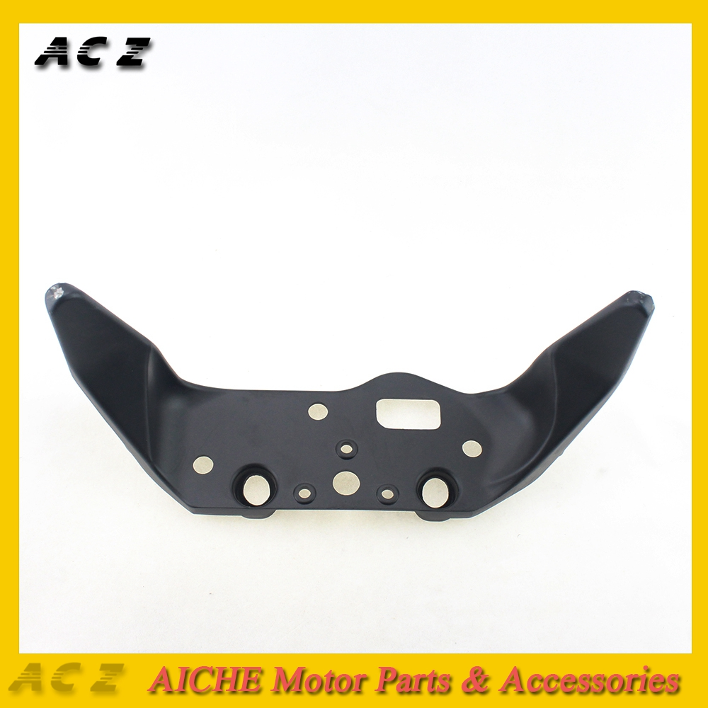 ACZ For 1999-2006 Honda CBR600 F4 F4i Black Upper Front Headlight Headlamp Bracket Fairing Stay 99 2000 2001 2002 2003 2004 2005