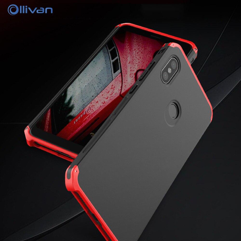 Per XiaoMi Redmi Nota 5 Pro Caso Della Copertura di Caso di Alluminio di Lusso del Metallo Duro Della Copertura Redmi Note 5 Coque Xiomi redmi Nota 5 Note5