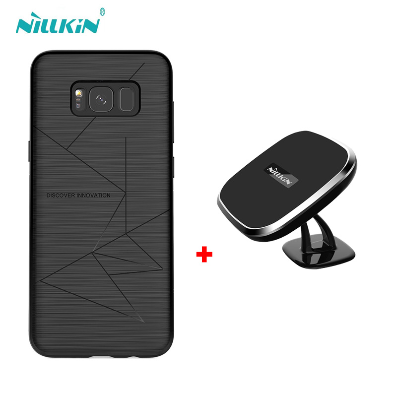 NILLKIN cassa Magica Per samsung galaxy s9 s9 più il qi wireless charger pad e della copertura di caso per galaxy s8 s8 + Portatile caricatore pad