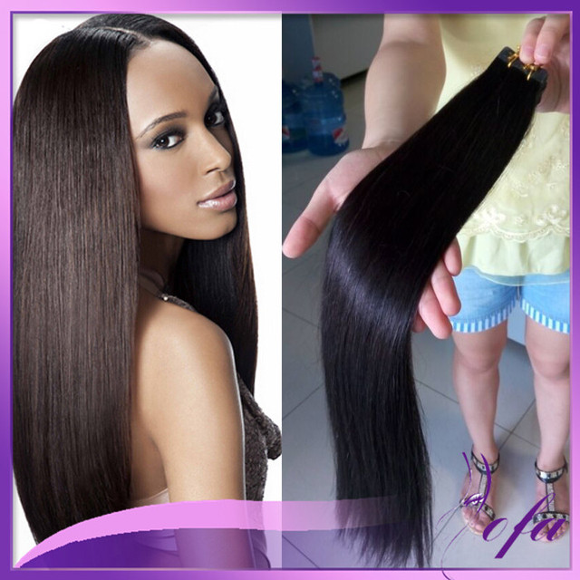 Real Human Hair Tape Extensions Indian Remy Tape Hair Extensions