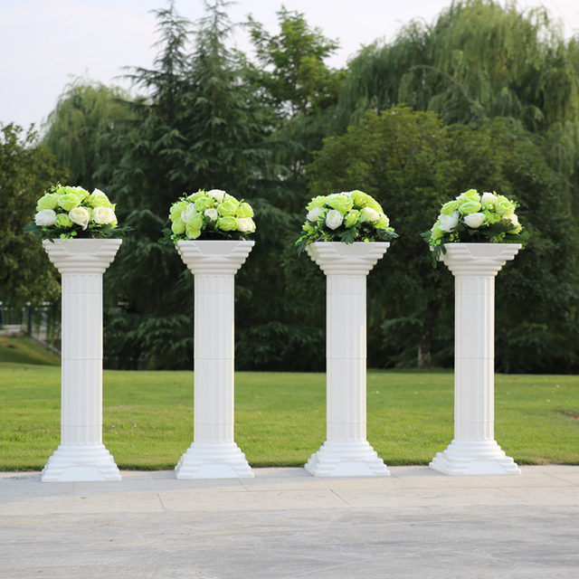 Free shipping 2 pc lot fashion wedding props decorative for How to build decorative columns