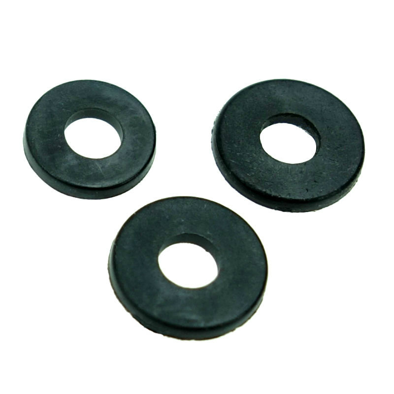 100 pcs M2 M2.5 M3 M4 M5 M6 <font><b>M8</b></font> M10 M12 black Plastic Nylon <font><b>Washer</b></font> Plated Flat Spacer <font><b>Washer</b></font> Gasket image