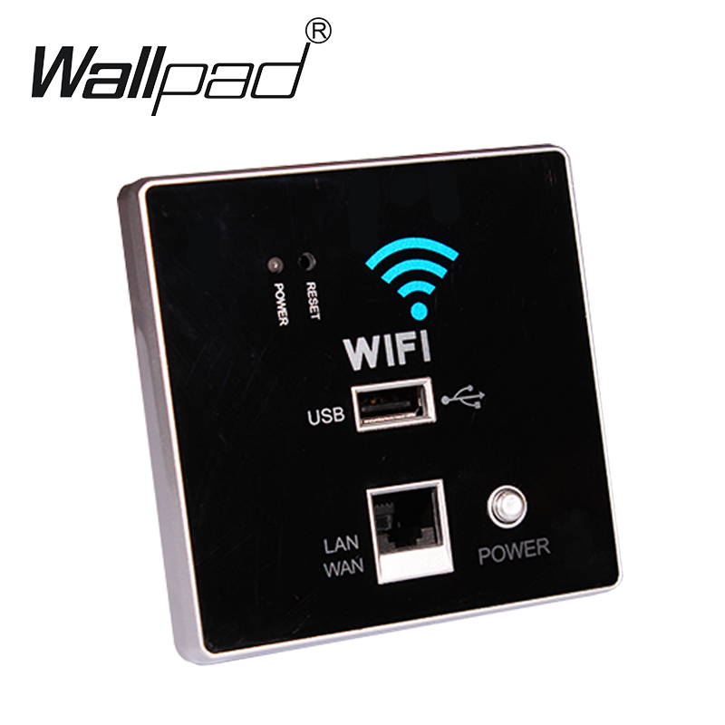 USB Socket pared enrutado inalámbrico AP Router cargador de pared del teléfono, WIFI USB Panel Socket, socket WiFi envío libre