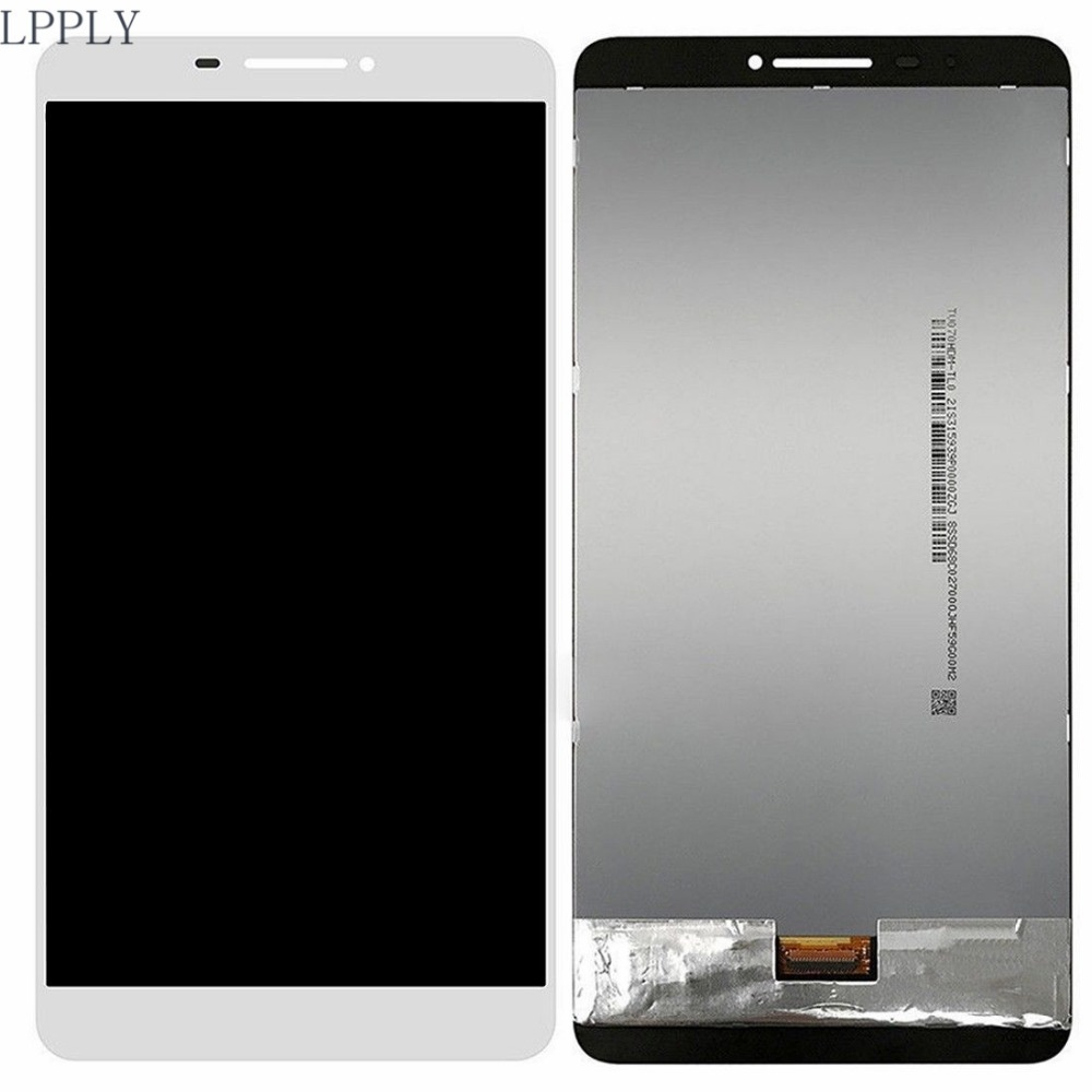 LPPLY LCD assembly For Lenovo PHAB PB1-750N PB1-750M PB1 750 LCD Display Touch Screen Digitizer Glass Free Shipping for alcatel one touch idol 3 6045 ot6045 lcd display digitizer touch screen assembly free shipping 10pcs lots free dhl