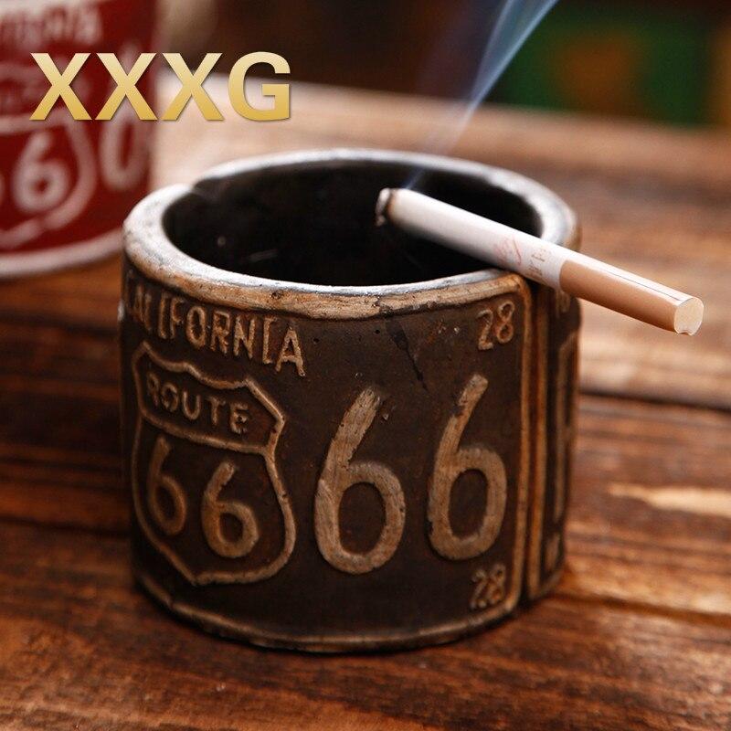 XXXG // americký průmyslový větrný cement retro popelník kreativní osobnost bar restaurace dekorace obývací pokoj stolní dekorace
