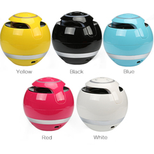 Portable Wireless Colorful Bluetooth Speaker with Mic