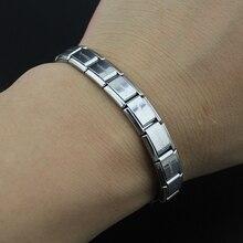 2017 New Fashion Women's Jewelry Silver Letter 316L Stainless Steel Bracelet Bangle
