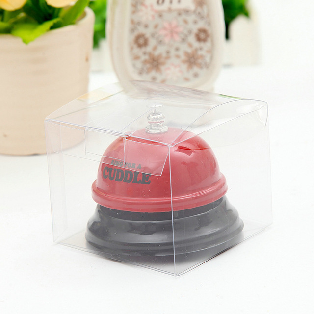 New Arrival Pet Dog Training Dog Bell Metal Bell Creative Paint Pet Button Training Call Bell for Eat