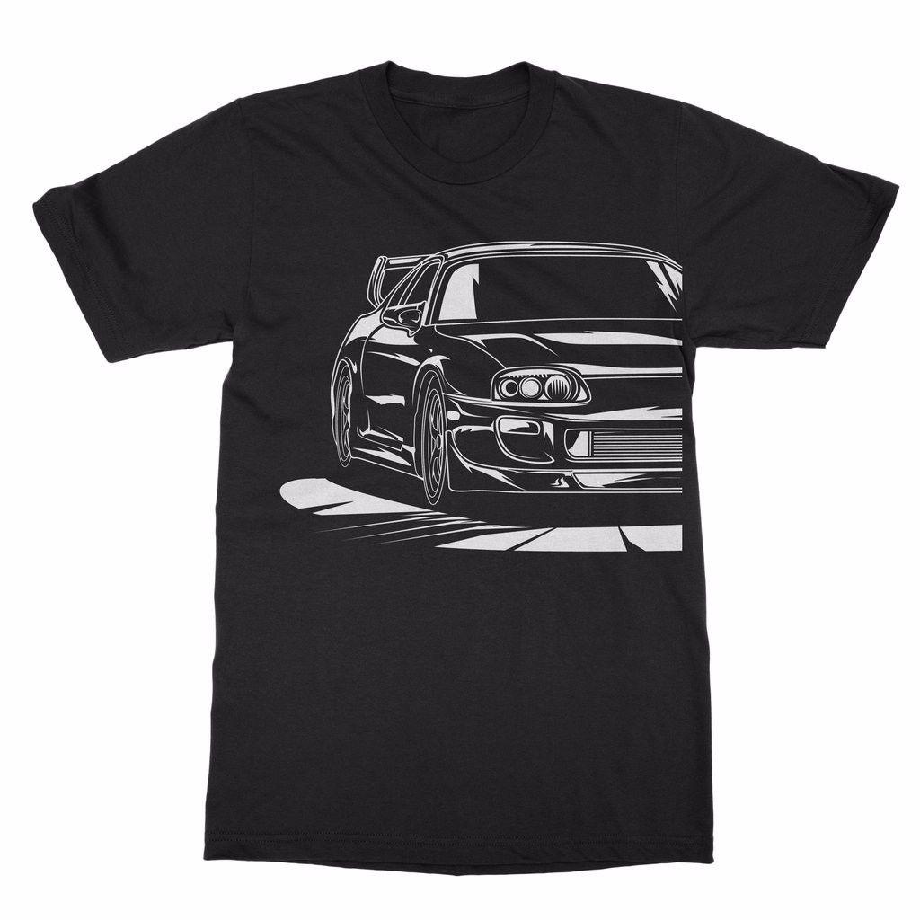 2018 Hot Sale Summer Japanese Car 2JZ GTE JDM T Shirt ...