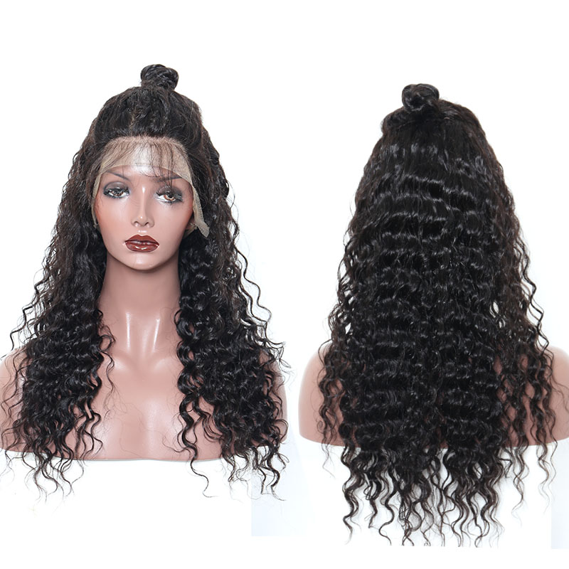 13x6 Deep Part Lace Front Human Hair Wigs 250% Deep Wave Human Hair Wigs For Women Pre Plucked Brazilian Remy Hair You May