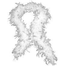 4684ef560835 2016 Détail 79 Pouces Long Très épais et plein BLANC BOA de PLUME de Partie  De Mariage Robe Costume Décoration Livraison Gratuit.