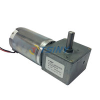 High Performance Electric DC Worm Gear Motor 24V 100rpm Free Shipping