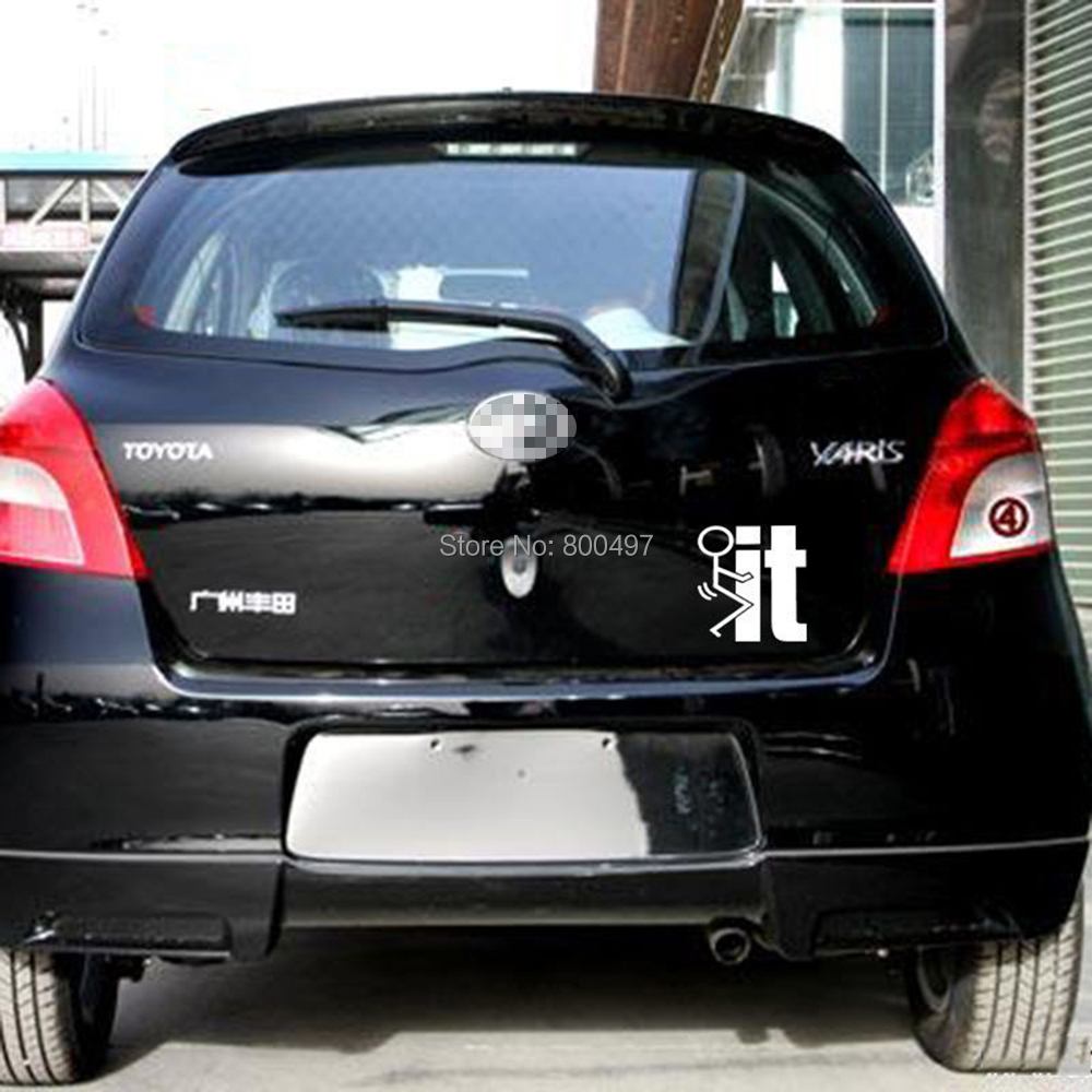 10 x Newest Design Sexy IT Reflective Creative Auto Decal Cartoon Car Sticker Bumper Body Decal Creative Pattern Vinyl