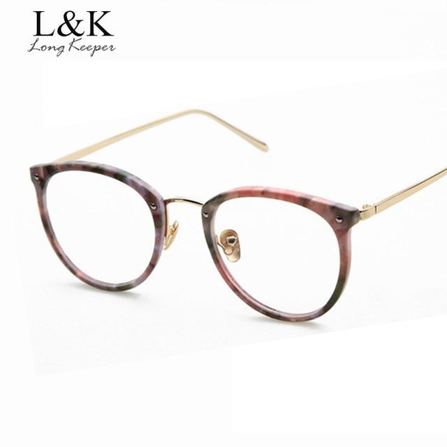 059054200fb70 2017 Moda Óculos de sol Retro Floral Para As Mulheres Limpar Lens Eyewares Feminino  Oval Designe