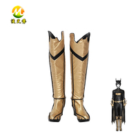 Batman Arkham Knight Batgirl Cosplay Boots Halloween Shoes Party Carnival Accessories For Adult High Quality Props