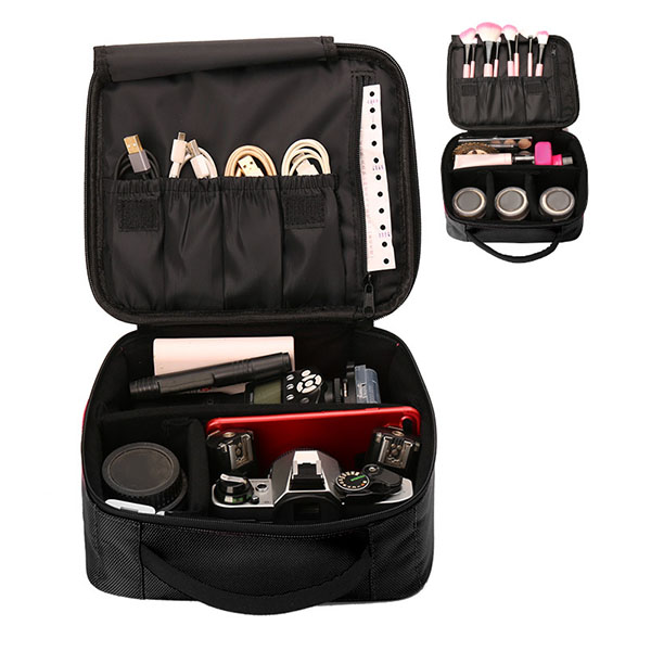 Cosmetic Bag Travel Makeup Organizer Cosmetics Pouch Bag Professional Cosmetic Makeup Case FC55