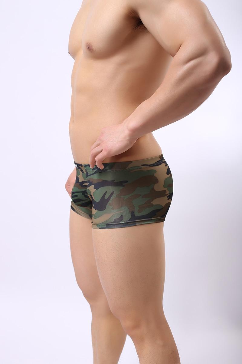 Ausbuchtung Herren Unterwäsche Weich Militär Badehose Unterhose Komfortabel