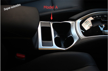 Lapetus 2 Choice For Choice! Matte Interior For Nissan Rogue / X-trail 2014 2015 2016 ABS Gear Boxes Water Cup Holder Cover Trim