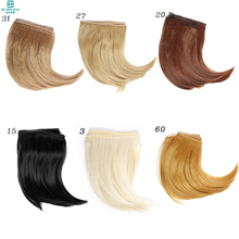 Wholesale 2pcs/lot Free shipping 15*100CM  Doll wigs/hair Big Bend hairstyle For  1/3 1/4 1/6 BJD /SD DIY Dolls Accessories