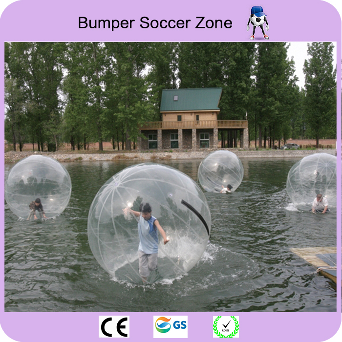 Free Shipping 2m Inflatable Human Hamster Ball Water Balloon Water Walking Ball Water Zorb Ball factory price inflatable water walking ball water zorb ball